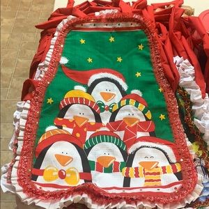Christmas aprons for adult women & children